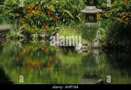Japanese Tea Garden Golden Gate Park San Francisco - Stock Photo