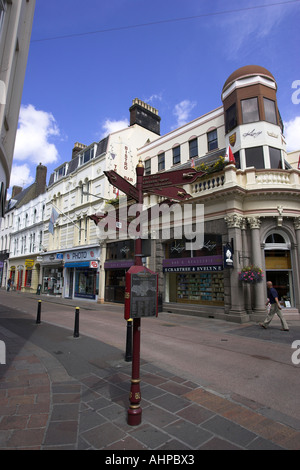 A series of photographs taken in Jersey ,The Channel Islands UK United Kingdom GB Great Britain - Stock Photo