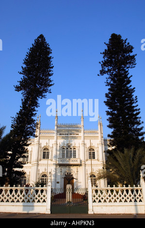 Natural History Museum housed in a palace built in the Maunelini style, Maputo, Mozambique - Stock Photo