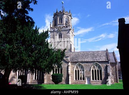 St Andrews Church Colyton Devon - Stock Photo