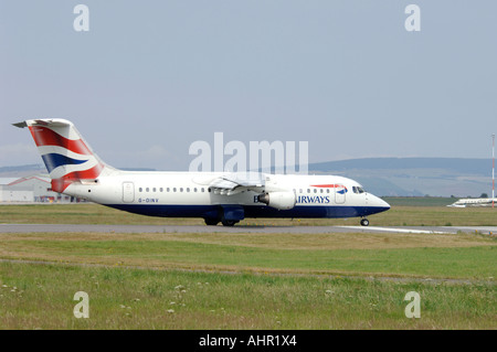 BEA 146-300 British Airways Connect Passenger Jet Airliner.  XAV 1282-303 - Stock Photo