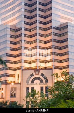 Public Bank, Kuala Lumpur, Malaysia - Stock Photo