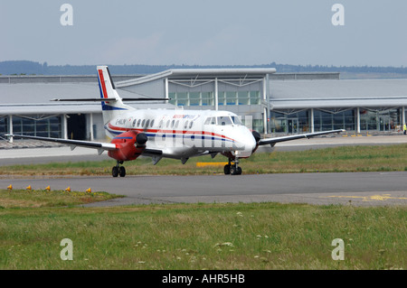 BAe Jetstream 4102 Regional airliner/Feederliner at Inverness, Scotland.   XAV 1244-301 - Stock Photo