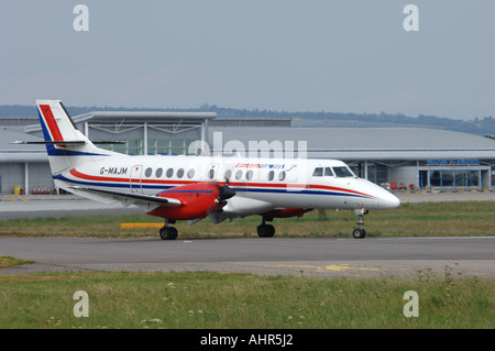 BAe Jetstream 4102 Regional airliner/Feederliner at Inverness, Scotland.   XAV 1245-301 - Stock Photo