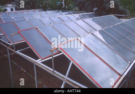 Solar panels Turkey - Stock Photo
