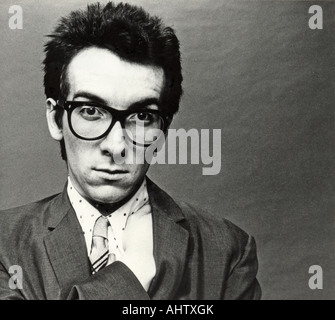 ELVIS COSTELLO UK musician about 1979 - Stock Photo