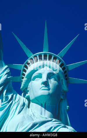 Statue of Liberty New York City New York - Stock Photo