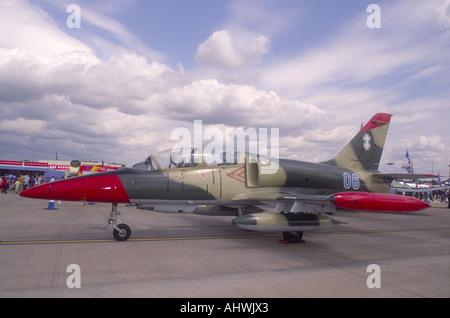 Aero L39 Military Trainer Military trainer aircraft Light ground-attack aircraft  GAV 2913-311 - Stock Photo