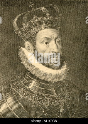 Charles V, 1500 - 1558.  Holy Roman Emperor, 1519 -1558 and as Charles I, King of Spain 1516 -1556. - Stock Photo