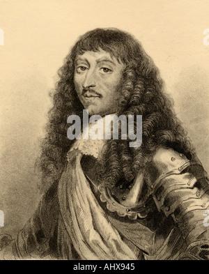 Louis Antoine de Bourbon, Duke of Enghien, 1772 – 1804. French emigre prince, last of the Condes. - Stock Photo