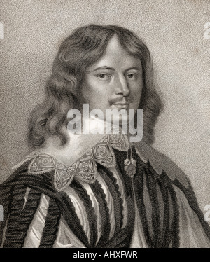 Lucius Cary 2nd Viscount Falkland - Stock Photo