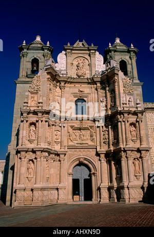 La Soledad Church and ex -Convent, Roman Catholic church, Roman Catholicism, Oaxaca, Oaxaca de Juarez, Oaxaca State, - Stock Photo
