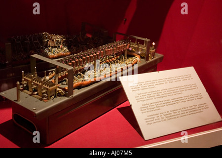 KGB wiretap system at Occupation Museum, Riga, Latvia, EU - Stock Photo