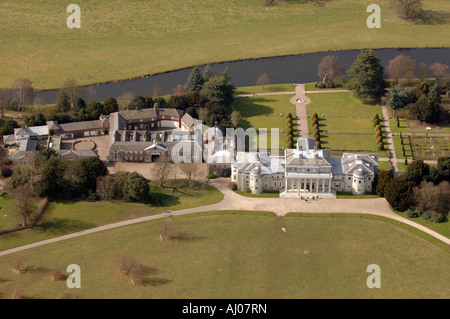 Shugborough Hall in Staffordshire Run by the National Trust and Staffordshire Council - Stock Photo