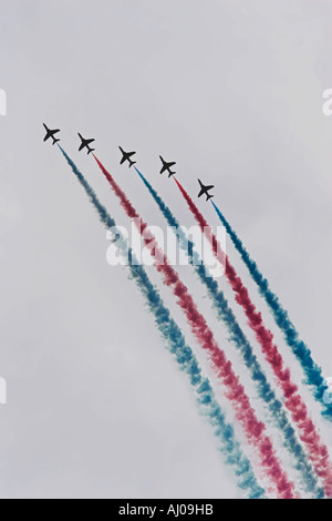 red arrows climbing loop - Stock Photo