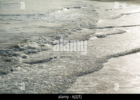 Ocean Waves From Above Aerial View, Ventura California, USA - Stock Photo