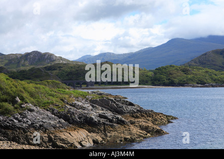 Loch nan Uamh, Scotland - Stock Photo