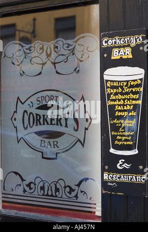 Pub Killarney County Kerry Ireland - Stock Photo