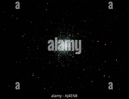M13 Great cluster in Hercules - Stock Photo