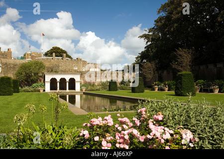 UK Kent Deal Walmer Castle Queen mothers rose garden