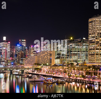Darling Harbor Sydney - Stock Photo