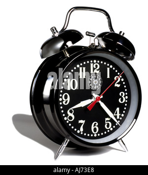 black alarm Clock - Stock Photo