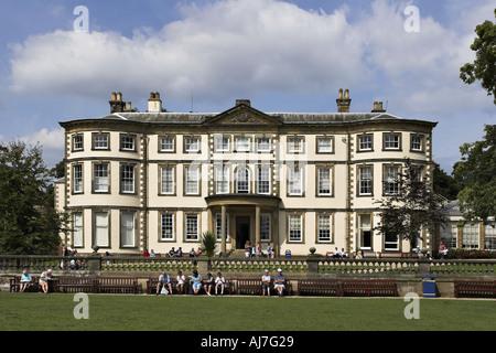 Sewerby Hall near Bridlington Yorkshire UK - Stock Photo