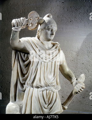 Mithras, ancient Persian god of light. Artist: Unknown - Stock Photo