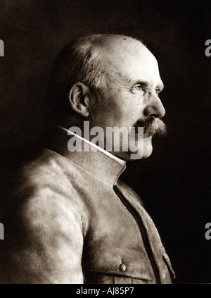 Henri Philippe Omer Petain, French soldier and statesman, c1916. Artist: Unknown - Stock Photo