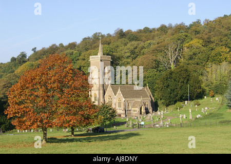 Saint Audries Church Somerset - Stock Photo