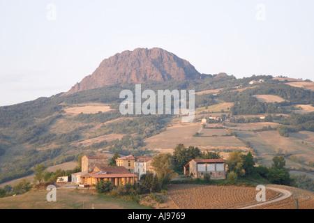 Poggio Val Trebbia Piacenza Italy - Stock Photo
