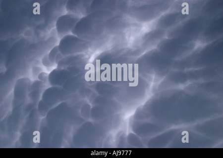 Clouds Val Trebbia Piacenza Italy - Stock Photo