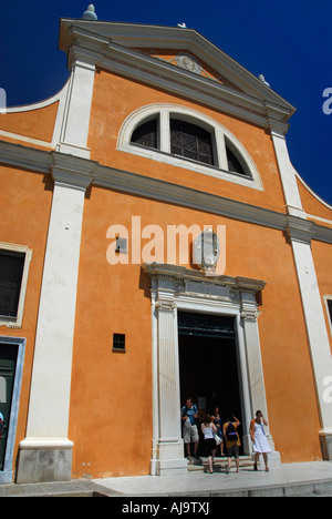 Cathedral, Ajaccio, Corsica, France - Stock Photo