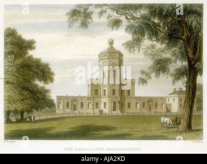 Radcliffe Observatory Oxford England 1834  - Stock Photo