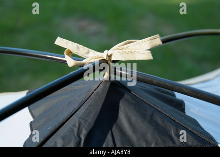 Close up of tent - Stock Photo