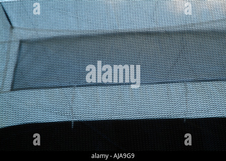 Close up of tent window - Stock Photo
