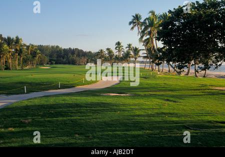 Captiva Island, Florida, golf course, south seas plantation, barrier island, southwest florida, lee county, fla - Stock Photo