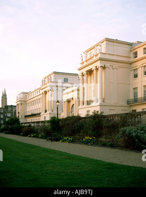 Cumberland Terrace Nash houses near Regents Park London NW1 England HXXZsm - Stock Photo