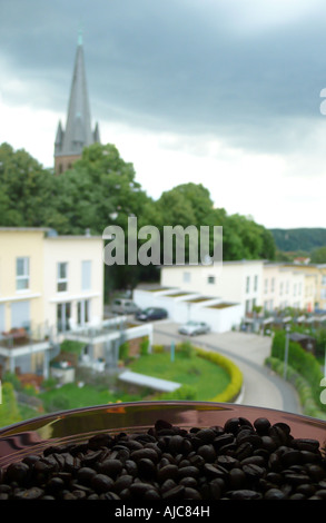 coffe beabs, Germany, North Rhine-Westphalia, Ruhr Area, Witten - Stock Photo