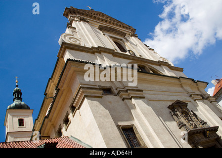 Czech Republic Bohemia Prague The Church Of Our Lady Victorious  inThe Little Quarter Housing The Wax Effigy Of - Stock Photo