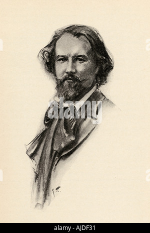 Gustave Charpentier, 1860 - 1956. French composer. - Stock Photo
