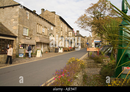 GRASSINGTON NORTH YORKSHIRE UK Upper Wharfedale's principle village has kept its charm with the small cobbled market square