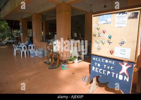 Tsunami Volunteer Center Khao Lak Thailand - Stock Photo