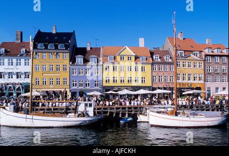Nyhavn copenhagen - Stock Photo