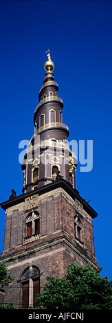 Church of our saviour copenhagen - Stock Photo