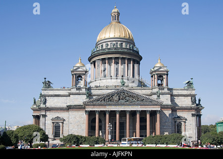 St isaacs cathedral st petersburg - Stock Photo