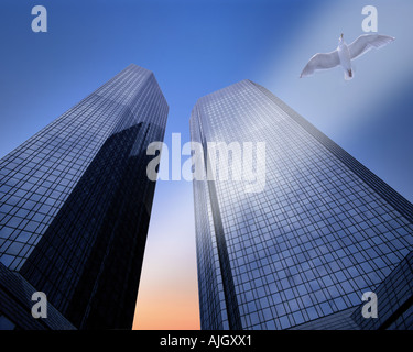 DE - HESSEN:  Deutsche Bank Headquarters in Frankfurt/Main - Stock Photo