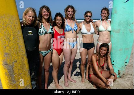 Minute jack european beach teen girl wet image black