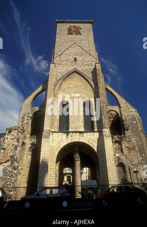 Saint Martin Basilica, St Martin Basilica, neo-Romanesque, neo-Romanesque architecture, Tours, Centre Region, France, - Stock Photo