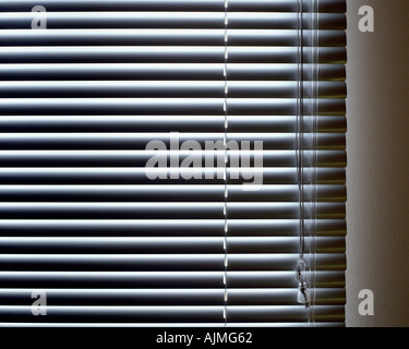 Closed blinds - Stock Photo